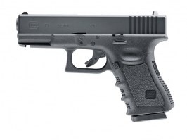Glock 19, metal slide, CO2, Gen.3 - black [UMAREX]