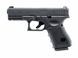 Airsoft pistol Glock 19 Gen.4, metal slide, Gas blowback [UMAREX]