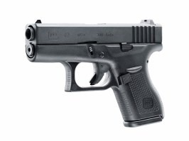 Airsoft pistol Glock 42, metal slide, Gas blowback [UMAREX]