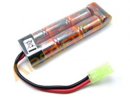 Akumulátor NiMH 8,4V 1600mAh - Mini block [VB Power]