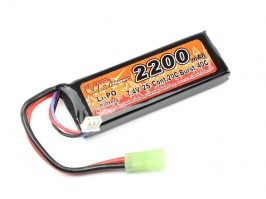 Battery  Li-Po 7,4V 2200mAh 20C [VB Power]