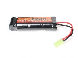 Akumulátor 8,4V 2200mAh Ni-MH - Medium block [VB Power]