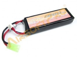 Battery Li-Po 11,1V 1800mAh 20/40C - Mini block [VB Power]