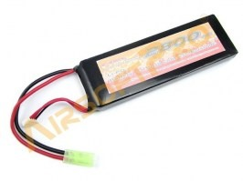 Battery Li-Po 11,1V 2800mAh 25C - Large block [VB Power]