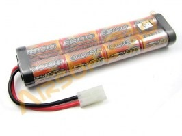 Akumulátor 9,6V 3300mAh - Large block [VB Power]
