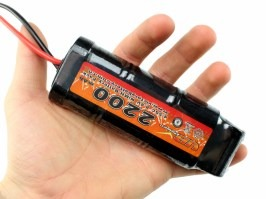 NiMH battery 8,4V 2200mAh - Medium block [VB Power]