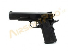 Airsoft pistol 1911B - gas blowback, full metal, 2 magazines [WE]