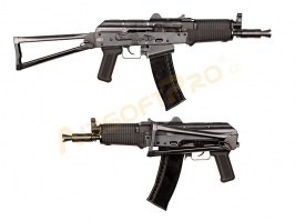 Airsoft rifle AK74UN GBB - full metal, blowback, black [WE]