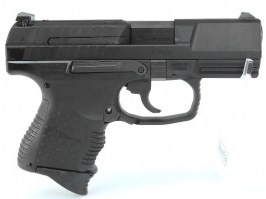 Airsoft pistol E99C - Metal, gas blowback - black [WE]