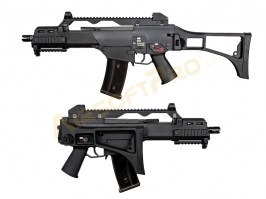 Airsoft rifle G39C GBB, blowback, - black [WE]