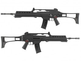Airsoft rifle G39E GBB, blowback, - black [WE]