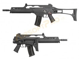Airsoft rifle G39K GBB, blowback, - black [WE]
