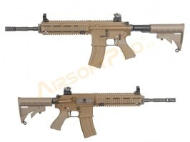 Airsoft rifle 4168 - full metal, blowback, TAN [WE]