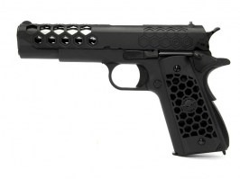M1911 Hex Cut - GBB, full metal, Gen.2 - black