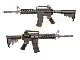 Airsoft rifle M4 RIS GBB - full metal, blowback, black [WE]