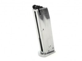 25 rounds gas magazine for WE M9, M92 - silver [WE]