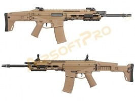 Airsoft rifle MSK (Masada-ACR) GBB, blowback, - TAN [WE]