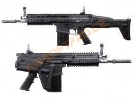 Airsoft rifle SC-H GBB, blowback - black [WE]