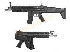 Airsoft rifle SC-L Short GBB, blowback, - black [WE]