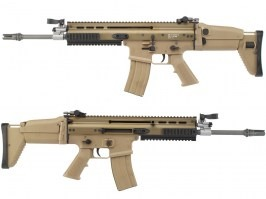 Airsoft rifle SC-L GBB , blowback - TAN