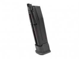 25 rounds long gas magazine for WE F17/F18 (M17/M18) - black [WE]