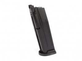 20 rounds gas magazine for WE F17/F18 (M17/M18) - black [WE]