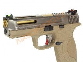 M&P BB FORCE T7 B SV Stealth Slide / GD Barrel / TAN Frame [WE]