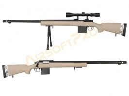 M24, MB4405D + scope and bipod - TAN