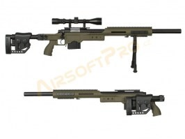 MB4410D + scope and bipod - olive