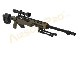 MB4411D + scope and bipod - olive [Well]