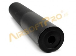 Metal silencer 210 x 38mm - black [Well]