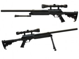 Airsoft sniper APS SR-2 (MB06) + bipod + scope [Well]