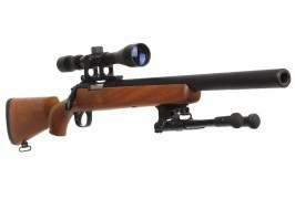 MB02D Sniper wood + scope + bipod [Well]