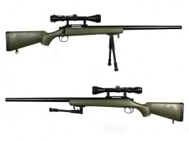 MB03D Sniper + scope and bipod, olive [Well]