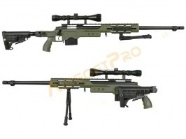 MB4412D + scope and bipod - olive