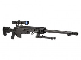MB4418-3D (Upgrade version) + scope and bipod - black [Well]