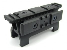 High MP5 scope mount with additional RIS rail [Well]