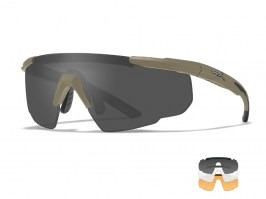 SABER Advanced glasses TAN - clear, smoke, light rust