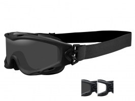 SPEAR goggle - clear, smoke