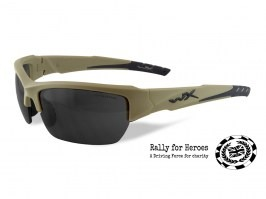 VALOR TAN glasses Rally for Heroes limited edition - smoke