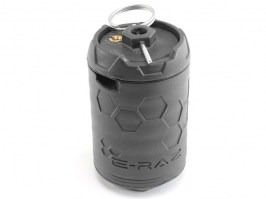 100 BBs E-RAZ gas grenade - black grey [Z-Parts]
