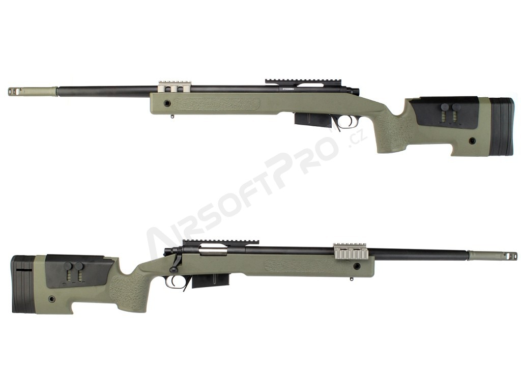 Airsoft sniper rifle M40A5 - OD [S&T]