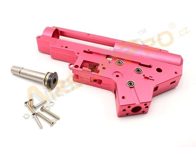 CNC reinforced QD gearbox shell V2 with 8mm ball bearing [Shooter]