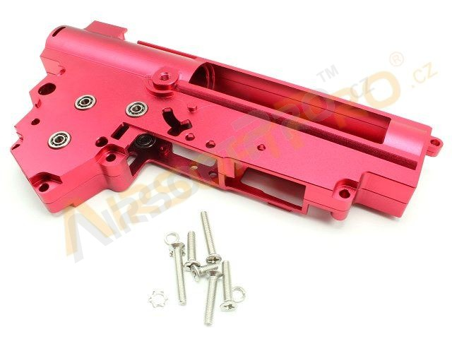 CNC reinforced gearbox V3 with 8mm ball bearing [Shooter]