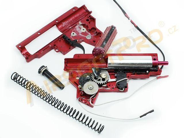 Complete CNC M150 QD gearbox for M4 - wiring to front [Shooter]