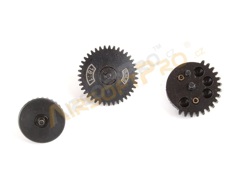 CNC torque-up gear set 18:1 - New type [SHS]