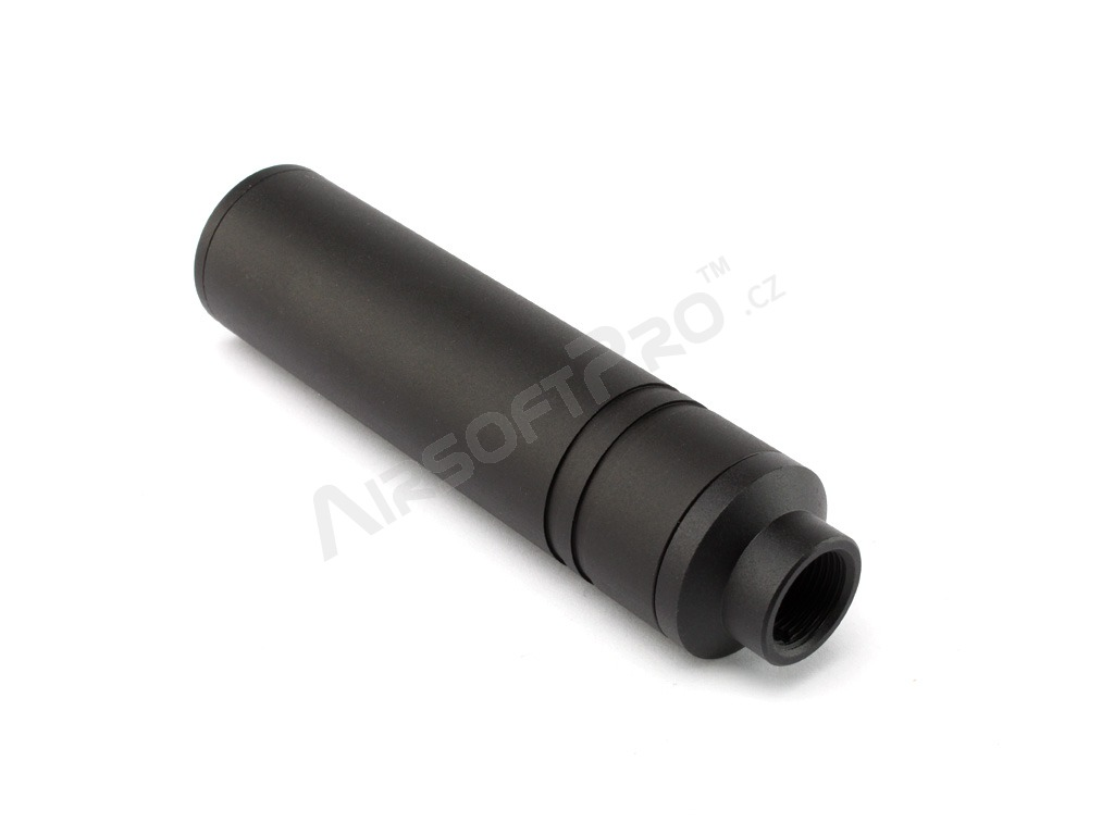 Metal silencer 110 x 27mm with +11mm adapter (SL00321A) [SLONG Airsoft]