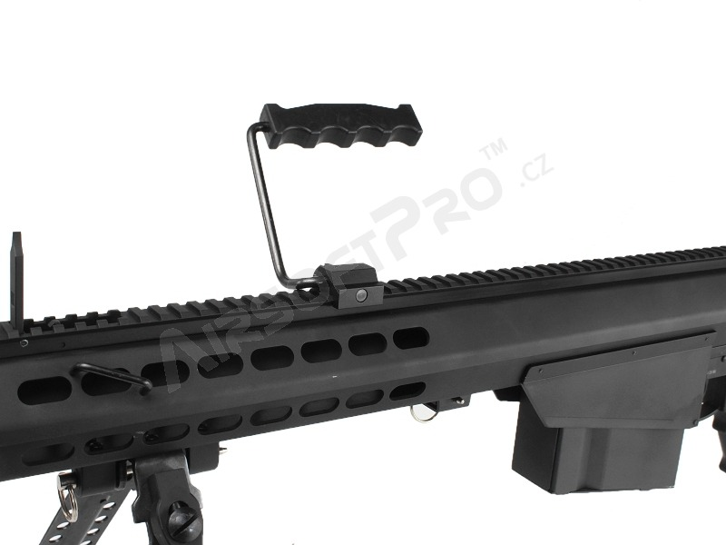 M107 BARRETT (SW-013A), full metal, bipod + scope, black [Snow Wolf]