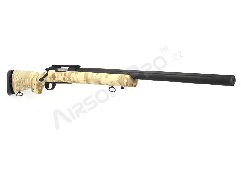 Airsoft sniper M24 Military - Digital Desert, (SW-04JC), až 170 ms ! [Snow Wolf]