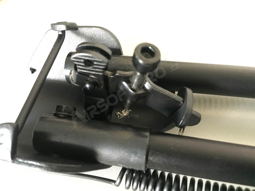 Metal spring return folding bipod - RETURNED BY CUSTOMER IN 14 DAYS [Snow Wolf]